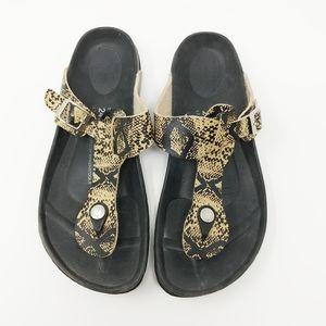 Betula Birkenstock Thong T Strap Sandals Size 7